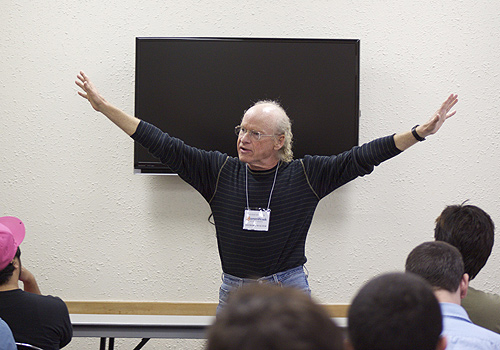 Professor Richard Walter at Cal State, Fullerton
